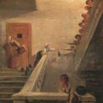 Le Ravitaillement des prisonniers à Saint-Lazare. 1794. Huile sur toile. H. 40,5; l. 32,5 cm. Paris, musée Carnavalet © Musée Carnavalet-Roger-Viollet