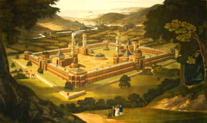 new_harmony_by_f._bate__view_of_a_community__as_proposed_by_robert_owen__printed_1838.jpg